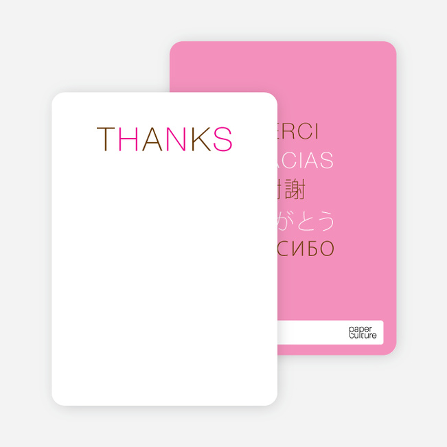 Note Cards: 'Flirty Thirty Birthday' cards. - Magenta