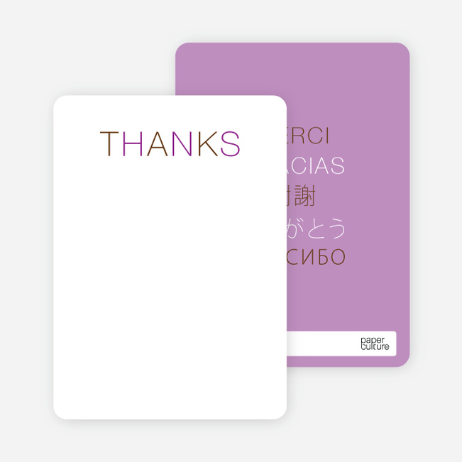 Note Cards: 'Flirty Thirty Birthday' cards. - Purple
