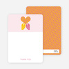 Notecards for the 'Owls in Love Bridal Shower' cards. - Hot Pink