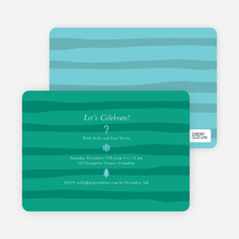 Striped Icons - Teal