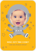 Astronaut Photo Invitations - Front View