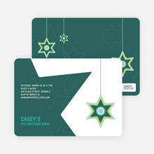 A Star is Made Birthday Party Invitation - Teal