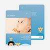Animal Kingdom Birth Announcements - Blue Genie