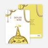 Birthday Party Celebration Invitations - Grey Poupon Yellow