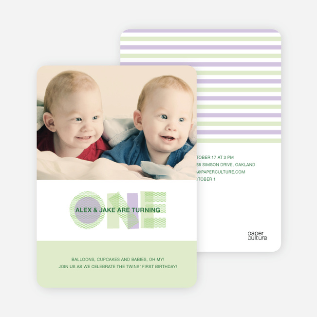Kids Birthday Invitations – Toddler Birthday Invitation