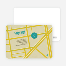 Moving Map - Mellow Yellow
