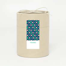 Pattern Chic Gift Tags and Stickers - Green