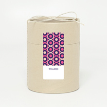 Pattern Chic Gift Tags and Stickers - Pink