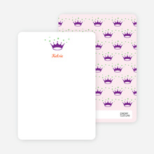 Stationery: 'Classic Princess' cards. - Carnation