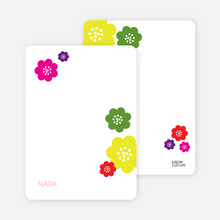 Stationery: 'Sprouting Babies' cards. - Multi