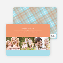 Studio Triple Easter Cards - Beach Peach
