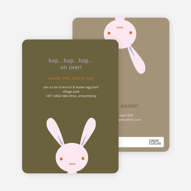 Hip Hop Easter Bunny Cards - Pink Yogurt