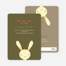 Hip Hop Easter Bunny Cards - Sunshine