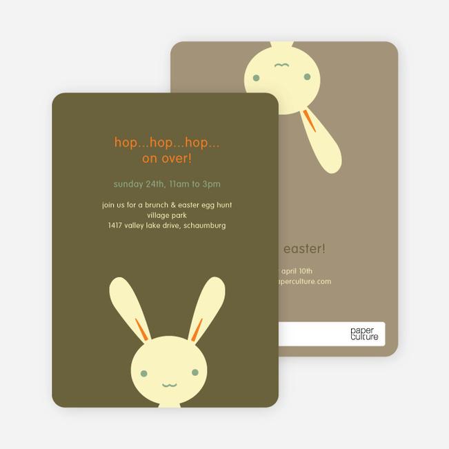 Hip Hop Easter Bunny Cards - Sunshine