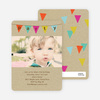 Party Flags Birthday Invitations - Multi