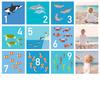 Sea World Numbers - Printed View