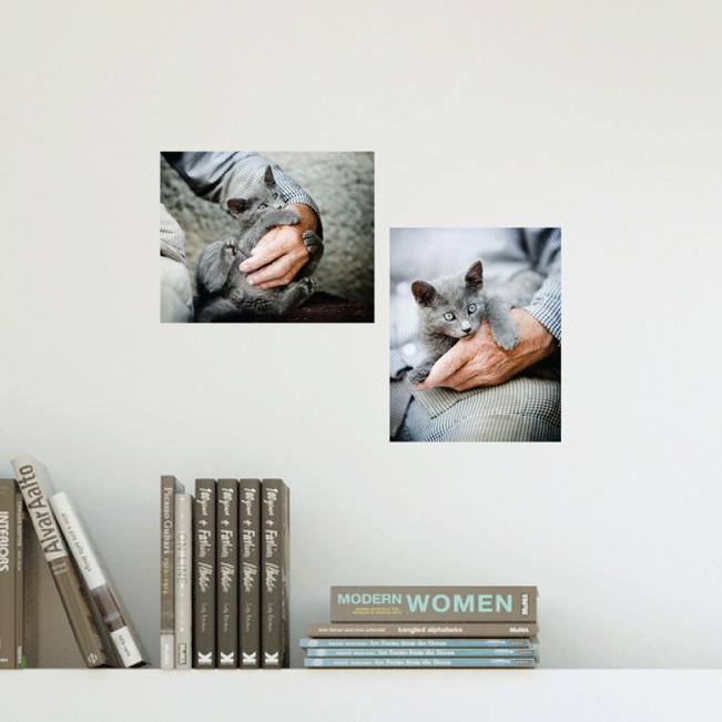Just Photos 8 x 10: Custom Photo Wall Stickers - Multi