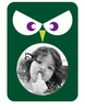 Owl Photo Frame Sticker - Printed View