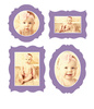 Antique Photo Frame Decals - Printed View