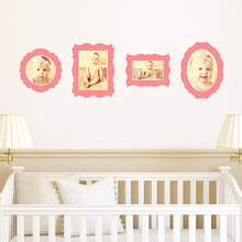 Antique Photo Frame Decals - Pink