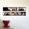 Movie Filmstrip Wall Stickers - Black