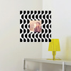 Fashion Frames Photo Wall Decals - Black