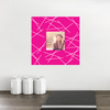 Fashion Frames Photo Wall Decals - Pink