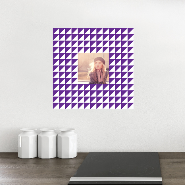 Fashion Frames Photo Wall Decals - Purple