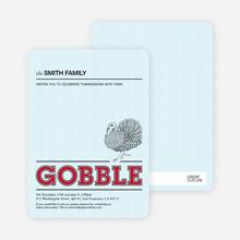 Gobble Gobble - Raspberry