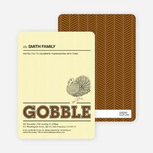 Gobble Gobble - Chocolate