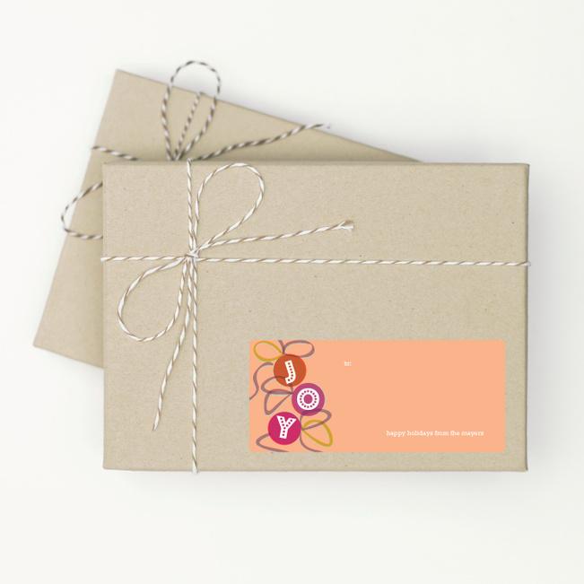 Gift Tags: Joy - Orange