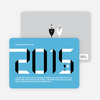 2010 New Year's Eve Party Invitations - Baby Blue