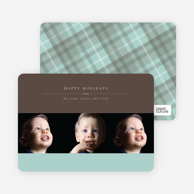 3 Photo Cards: Photographer Studio Triple - Mint
