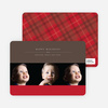3 Photo Cards: Photographer Studio Triple - Ruby