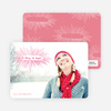 be merry, be bright Holiday Photo Cards - Fuschia