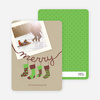 Christmas Cards: Stockings - Basil