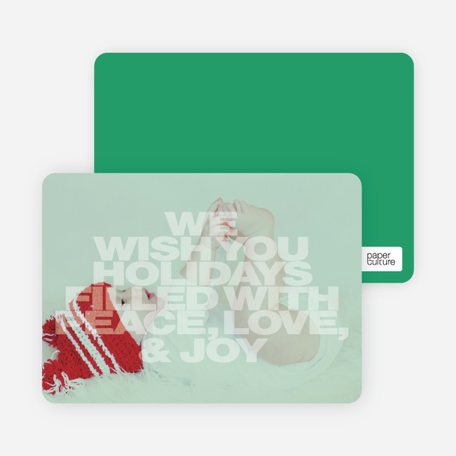Christmas & New Year's Cards - Green
