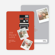 Polaroid Holidays - Red