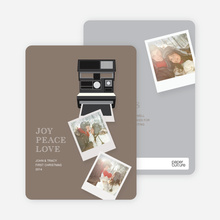 Instant Polaroid Holiday Memories - Yellow