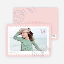 Holiday Stamp - Pink