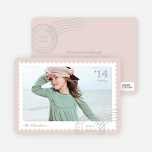 Holiday Stamp - Beige