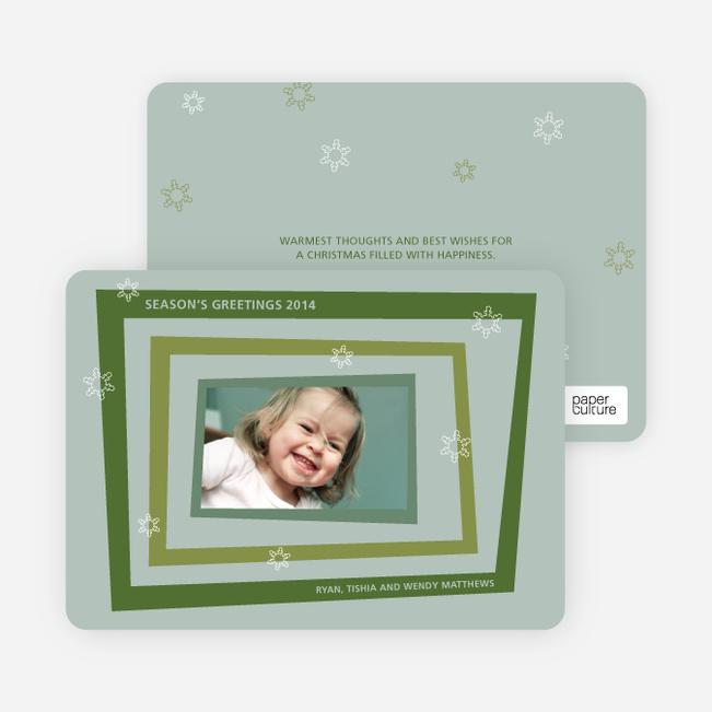 Holiday Photo Cards: Retro - Khaki