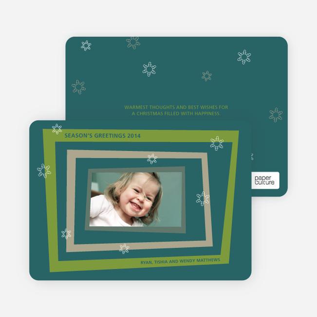 Retro Holiday Photo Cards - Asparagus
