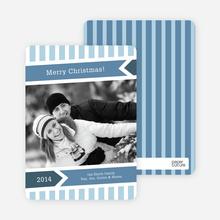 Modern Merry Christmas Cards - Mystic Blue