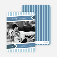 Modern Merry Christmas Cards - Mystic Blue