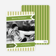 Modern Merry Christmas Cards - Lemongrass
