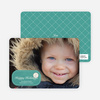 Sealed with a Photo Holiday Cards - Teal