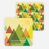 Christmas Tree Forest Cards - Green
