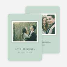 Framed Blessings Holiday Cards - Green