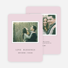 Framed Blessings Holiday Cards - Pink
